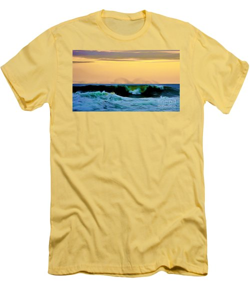 Ocean Power Men's T-Shirt (Athletic Fit)
