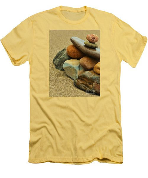 Ocean's Art Men's T-Shirt (Slim Fit) by Pamela Blizzard