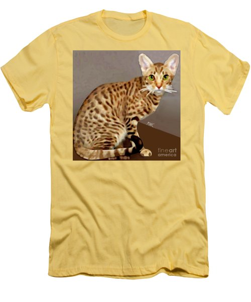 Ocicat Men's T-Shirt (Athletic Fit)