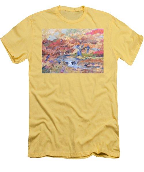 October Walk Men's T-Shirt (Athletic Fit)