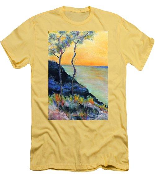 Ode To Monet Men's T-Shirt (Slim Fit) by Jodie Marie Anne Richardson Traugott          aka jm-ART