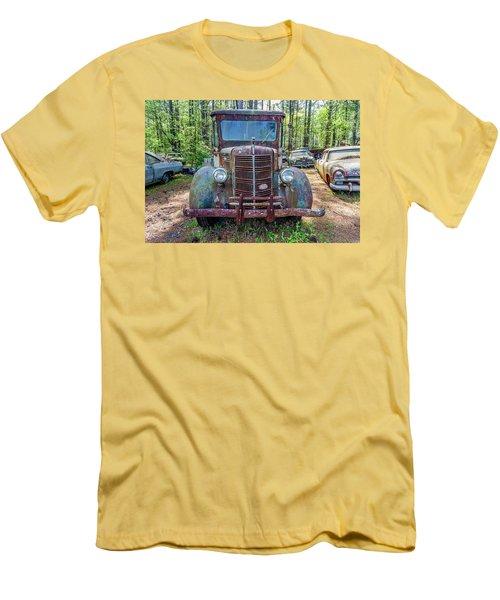 Old Car Smile Men's T-Shirt (Athletic Fit)