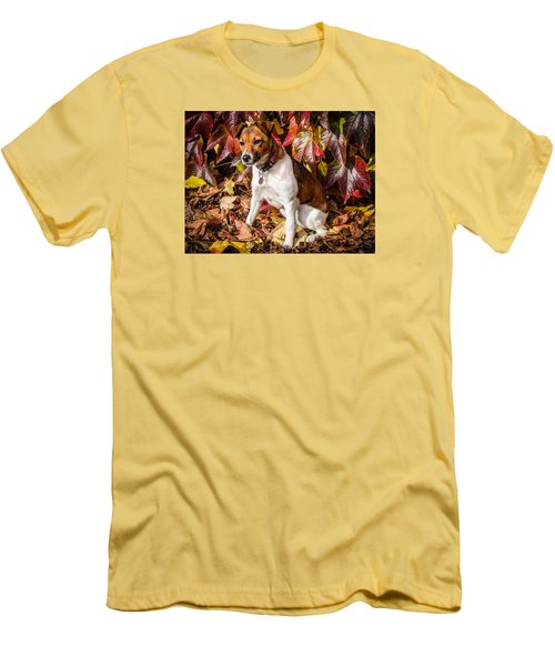 On The Leaves Men's T-Shirt (Athletic Fit)