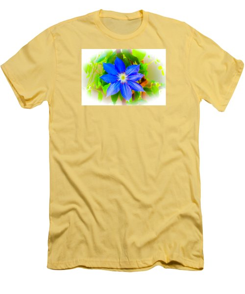 Men's T-Shirt (Slim Fit) featuring the photograph One Bloom - Pla226 by G L Sarti