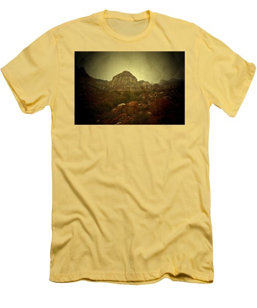 Men's T-Shirt (Slim Fit) featuring the photograph One Day by Mark Ross