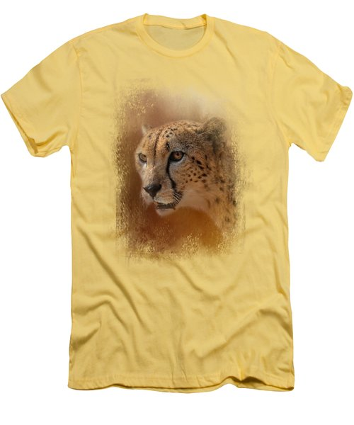 One With The Sun Men's T-Shirt (Slim Fit) by Jai Johnson