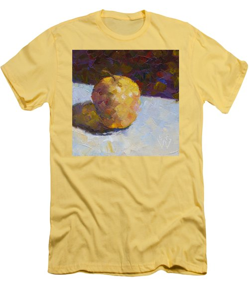 Opal In Gold Men's T-Shirt (Athletic Fit)