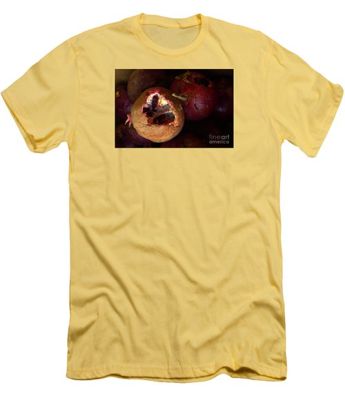 Men's T-Shirt (Slim Fit) featuring the photograph Opening by Nora Boghossian