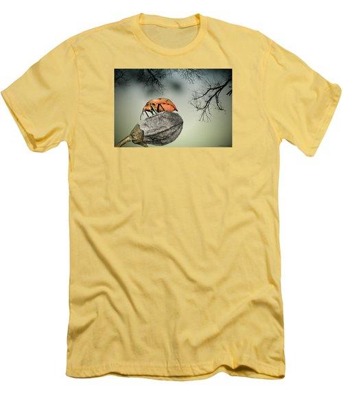 Orange Stink Bug 001 Men's T-Shirt (Athletic Fit)