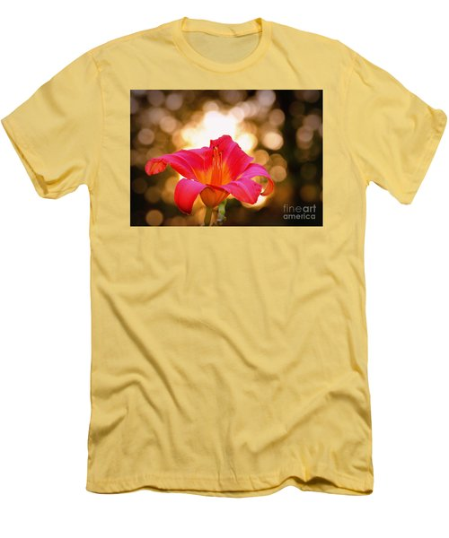 Men's T-Shirt (Slim Fit) featuring the photograph Orbs All Around by Lydia Holly