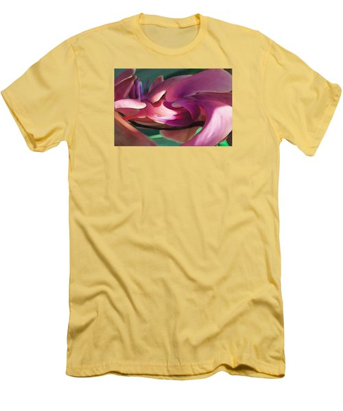 Orchid Variation Borderless Men's T-Shirt (Slim Fit) by David Klaboe