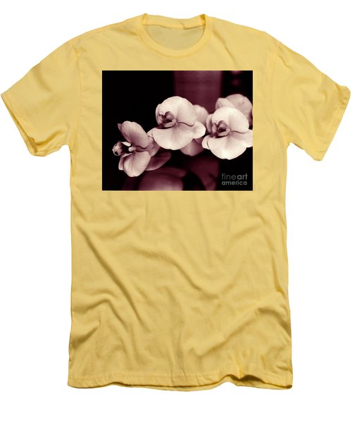 Men's T-Shirt (Athletic Fit) featuring the photograph Orchids Hawaii by Mukta Gupta
