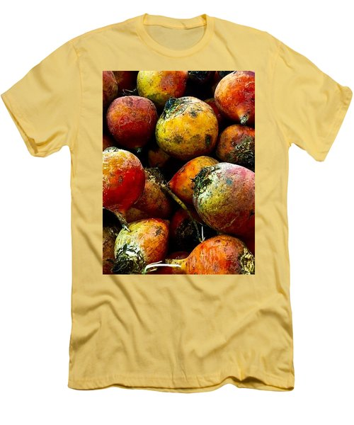Organic Beets Men's T-Shirt (Athletic Fit)