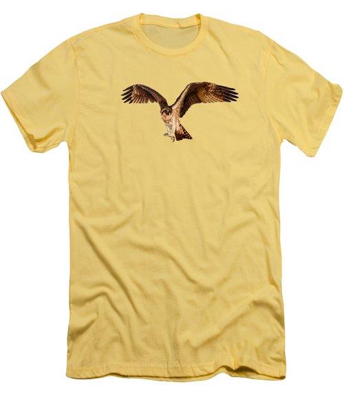 Osprey On The Branch Men's T-Shirt (Slim Fit)