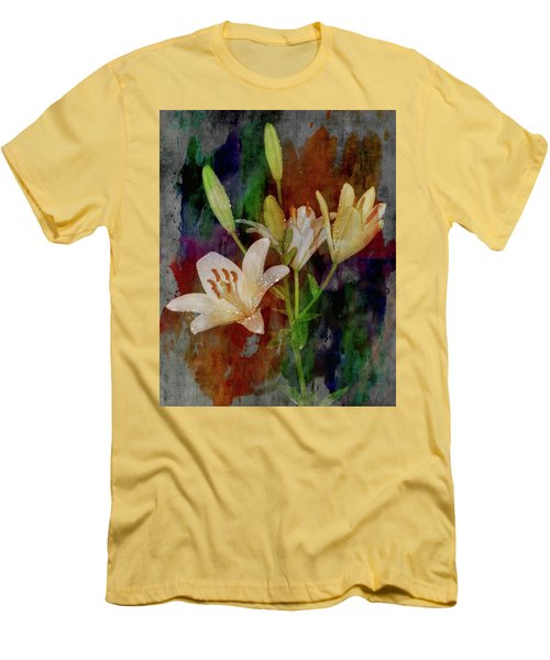 Painted Lilies Men's T-Shirt (Athletic Fit)