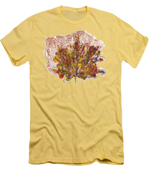 Painted Nature 3 Men's T-Shirt (Slim Fit) by Sami Tiainen