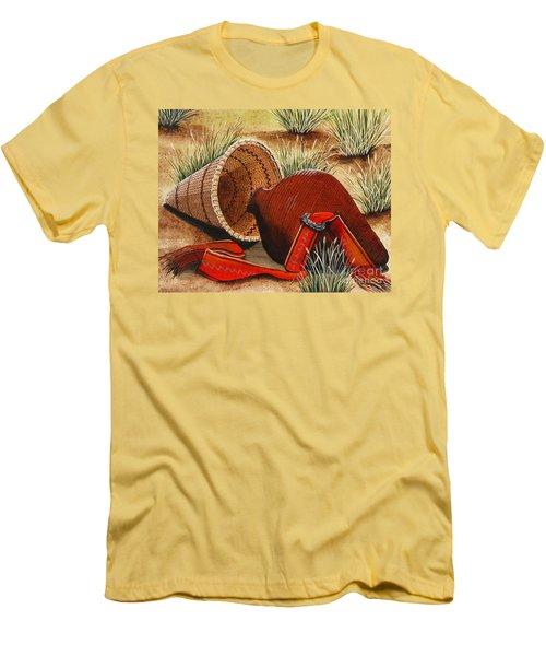 Paiute Baskets Men's T-Shirt (Slim Fit)