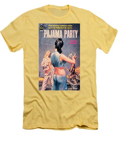 Pajama Party Men's T-Shirt (Athletic Fit)