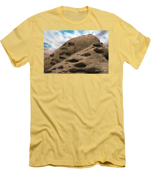 Papago Buttes Men's T-Shirt (Slim Fit) by Anne Rodkin