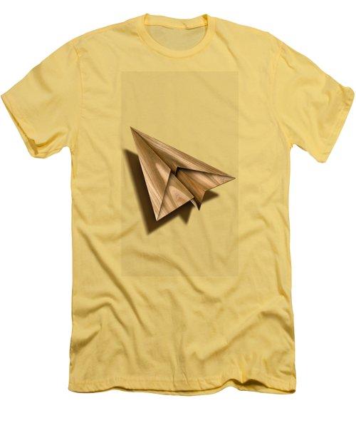 Paper Airplanes Of Wood 1 Men's T-Shirt (Slim Fit)