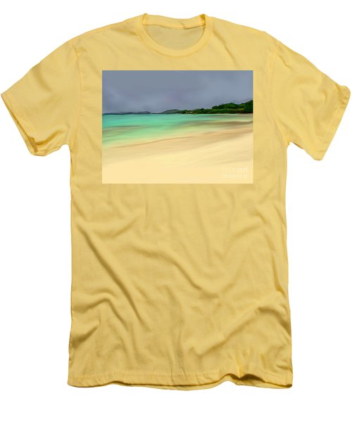 Paradise Men's T-Shirt (Slim Fit) by Anthony Fishburne