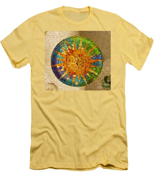 park Guell, Barcelona, Spain Men's T-Shirt (Athletic Fit)