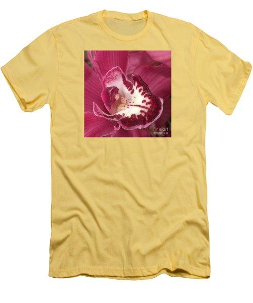 Passionate Purple Men's T-Shirt (Athletic Fit)