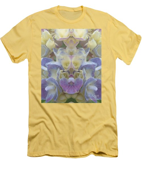 Men's T-Shirt (Slim Fit) featuring the photograph Pastel Blooms by Christina Verdgeline