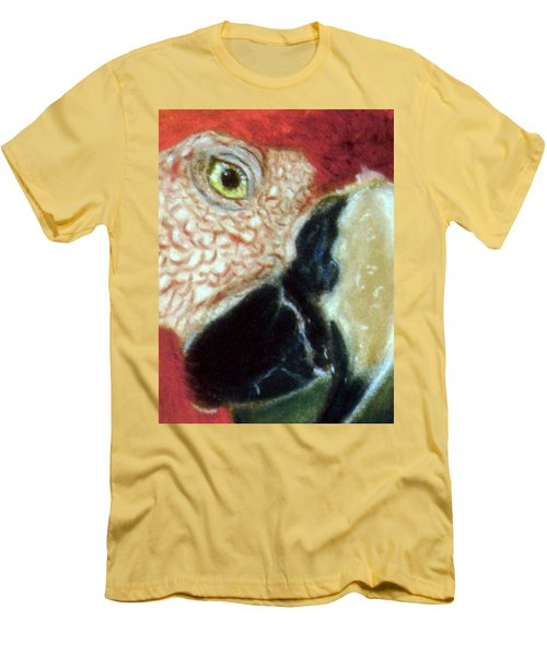 Pastel Of Red On The Head  Men's T-Shirt (Athletic Fit)