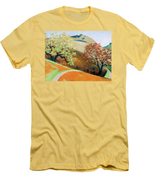 Path Men's T-Shirt (Slim Fit) by Gary Coleman