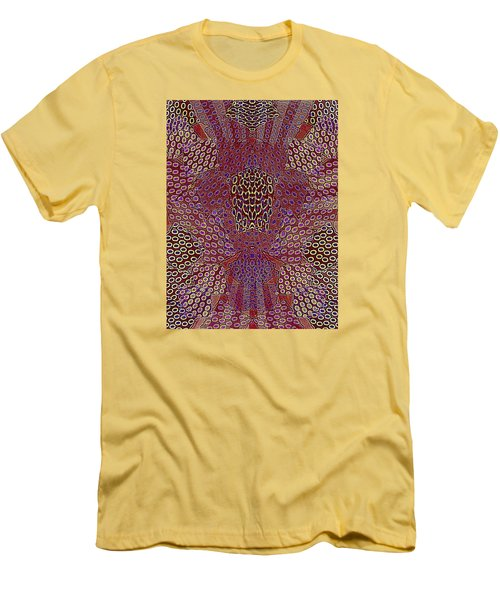 Pattern Men's T-Shirt (Slim Fit)
