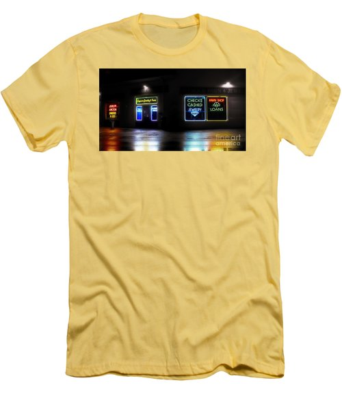 Men's T-Shirt (Slim Fit) featuring the photograph Pawn by Raymond Earley