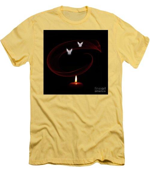 Peace Doves Men's T-Shirt (Athletic Fit)