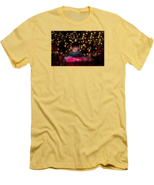 Peace Men's T-Shirt (Slim Fit) by Kevin Cable