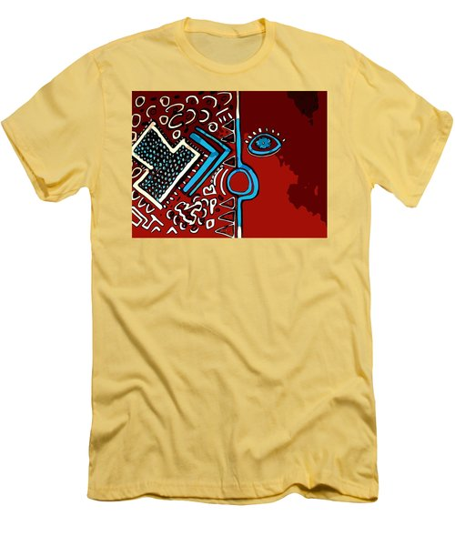 Peace Pipe Men's T-Shirt (Athletic Fit)
