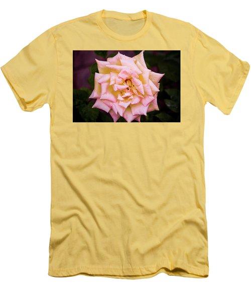 Peace Rose Men's T-Shirt (Athletic Fit)