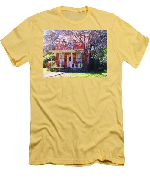 Peach Tree Bed And Breakfast Men's T-Shirt (Athletic Fit)