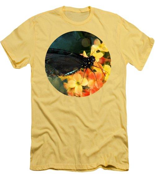 Peachy Men's T-Shirt (Slim Fit) by Anita Faye