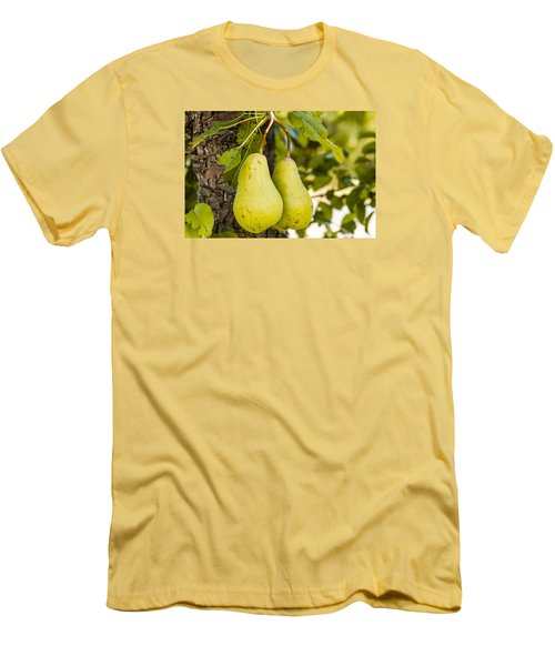 Pears 2 Of A Kind Men's T-Shirt (Athletic Fit)