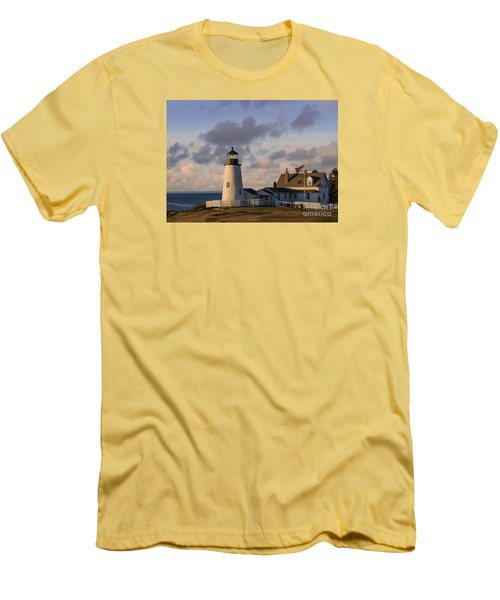 Pemaquid Morning Men's T-Shirt (Athletic Fit)