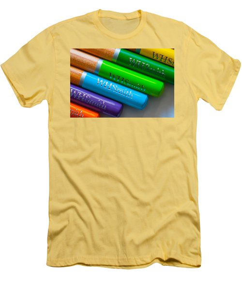 Pencils 5 Men's T-Shirt (Athletic Fit)