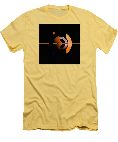 Men's T-Shirt (Slim Fit) featuring the painting Penman Original - 216 by Andrew Penman