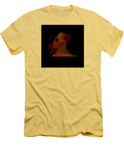 Men's T-Shirt (Slim Fit) featuring the painting Penman Original-292-the Unknown Warrior. by Andrew Penman