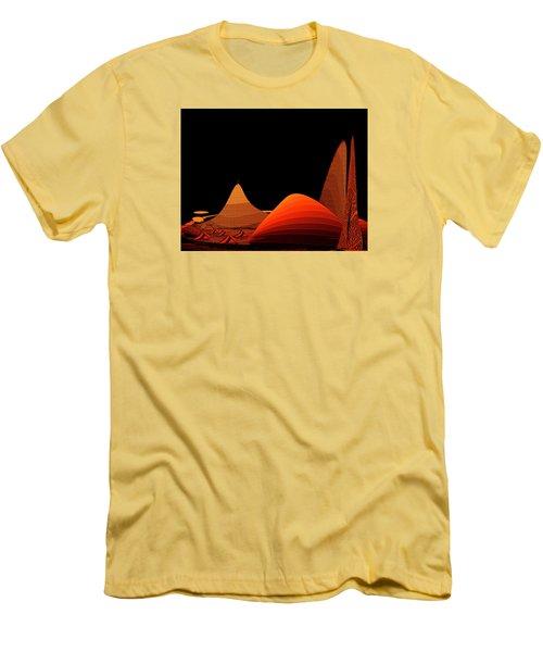 Penman Original-294-refuge Men's T-Shirt (Slim Fit) by Andrew Penman