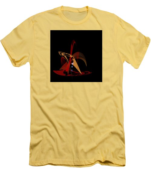 Men's T-Shirt (Slim Fit) featuring the painting Penman Original-328 by Andrew Penman