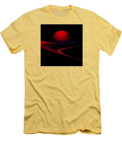 Penman Original-347 Cosmic Curve Men's T-Shirt (Slim Fit) by Andrew Penman