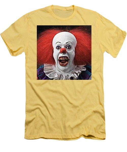 Pennywise The Clown Men's T-Shirt (Slim Fit) by Taylan Apukovska