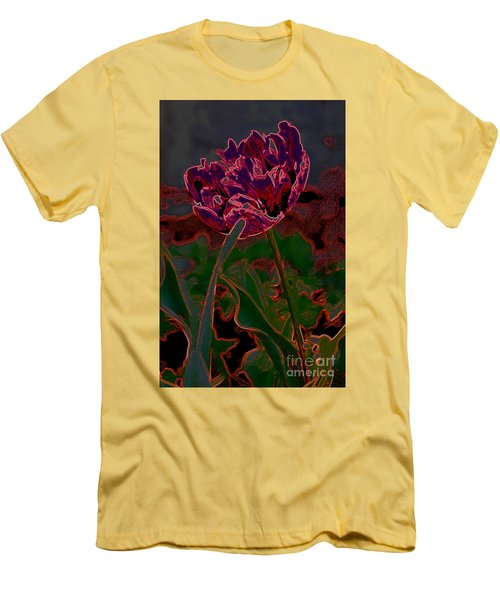 Peony Tulip Men's T-Shirt (Athletic Fit)