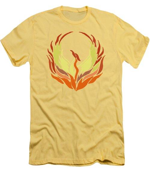 Phoenix Bird Men's T-Shirt (Athletic Fit)