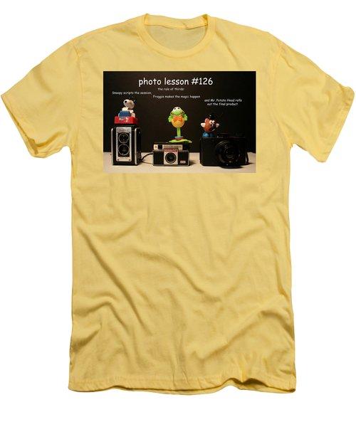 Photo Lesson  Men's T-Shirt (Slim Fit) by Toni Hopper